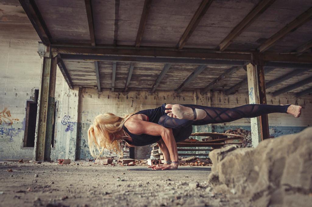 Joanna Staszewska - instruktir w Yoga Academy Szczecin