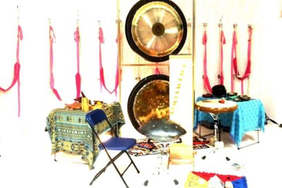 Ceremonia Dźwięku-Gongi, Misy, Instrumenty Archaiczne