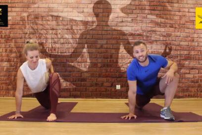 Yoga z Joanną i Łukaszem